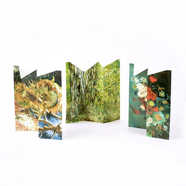 Bloemenvaas karton 'Van Gogh'