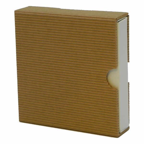 Cassette van open-golfkarton